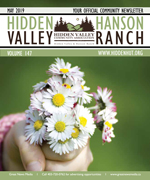 Hidden Valley and Hanson Ranch Newsletter